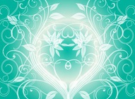 Nature Swirls Vector Background