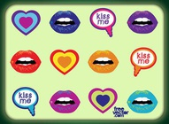 Kisses Vectors
