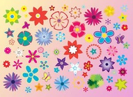 Flower Vector Elements