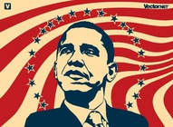 Obama Stars and Stripes