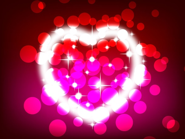 Heart of Light Vector