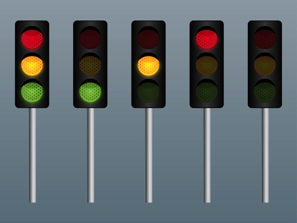 Traffic Lights Vectors