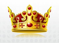 Red Gold Crown