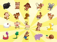 Free Animal Characters