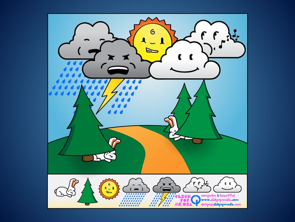 Vector Weather Cartoons