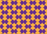 Sixties Wavy Pattern