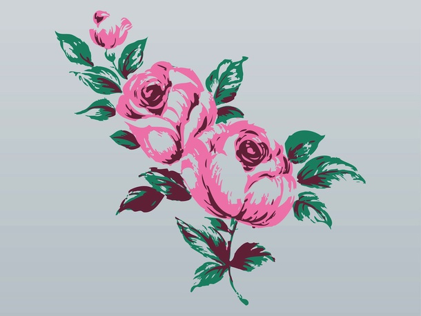 Rose Bouquet Graphics
