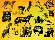 Animals Vectors Set