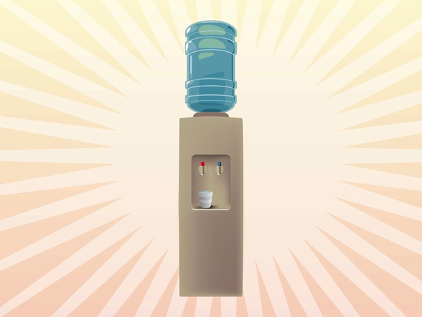 Water Dispenser Vector