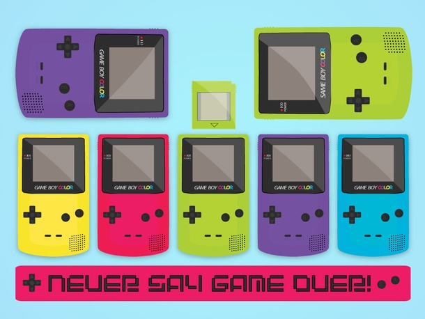 Gameboy Vector Set