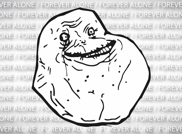 Forever Alone Vector