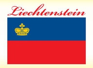 Liechtenstein Flag Vector
