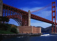Golden Gate Illustration