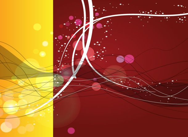 Spilt Color Abstract Backdrop