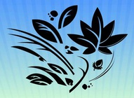 Floral Vector Design Graphics