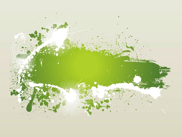 Splatter Art Vector