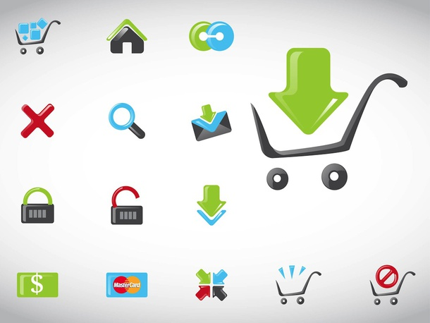 Shopping Vectors