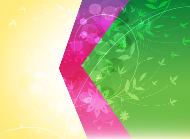 Floral Backdrop Vector