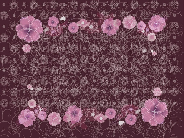 Floral Background Vector Art