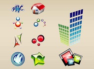 Colorful Glossy Icons
