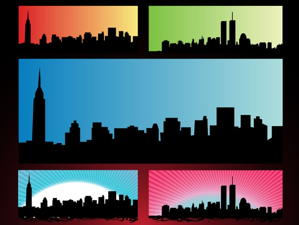 NYC Skyline Backgrounds