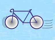 Race Bike Vector