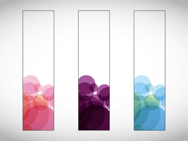 Abstract Banners Vectors