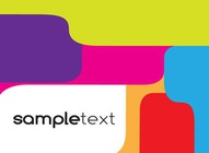 Colorful Shapes Template
