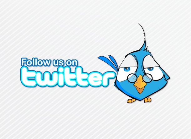 Twitter Follow Design