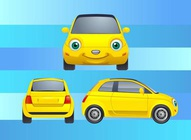 Car Cartoon Character
