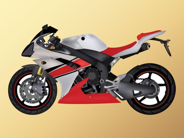 Super Bike Render