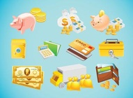 Money Cartoon Vectors