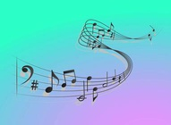 Musical Waves Vector