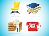 Office Items Clip Art