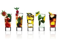 Cocktail Glasses Wallpaper
