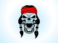 Apache Warrior Skull