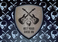 Guitars and Skulls Rock