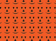 Halloween Pumpkin Vector Pattern