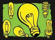 Light Bulb Cartoons