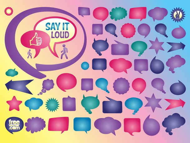 Chat Bubble Vectors