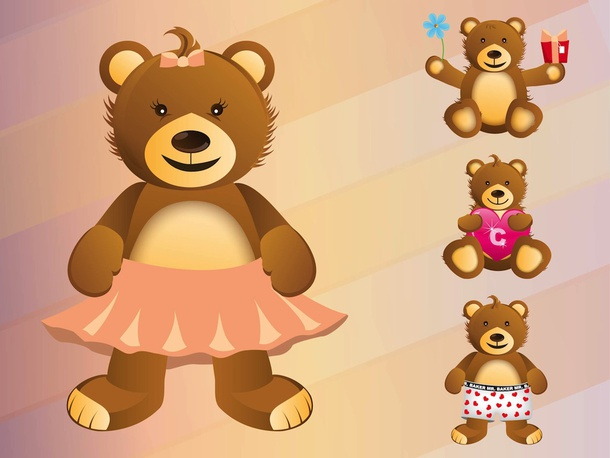 Teddy Bear Characters