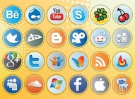 Social Media Button Pack