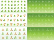Irish Symbol Patterns
