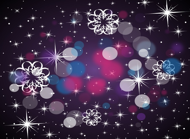 Decorative Space Background