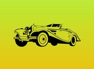 Classic Car Vector Graphic