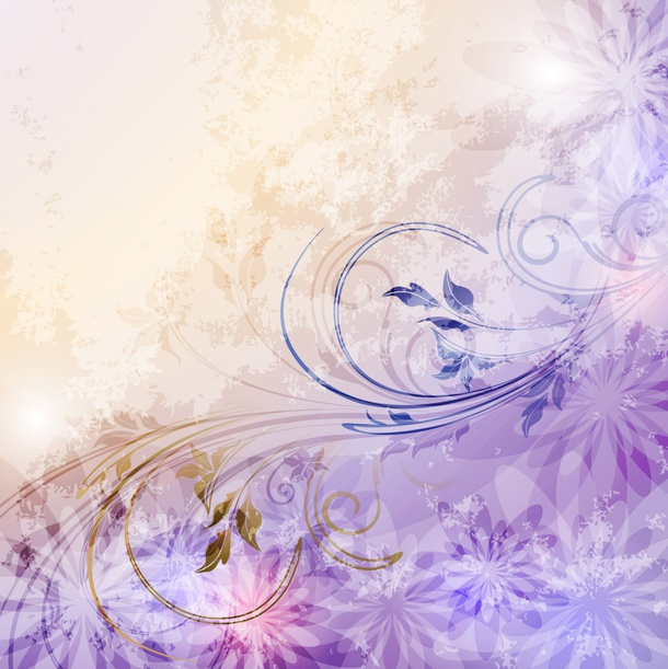 Soft Flowers Background