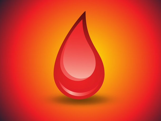 Blood Drop Vector