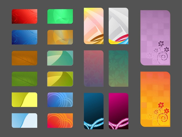 Abstract Cards