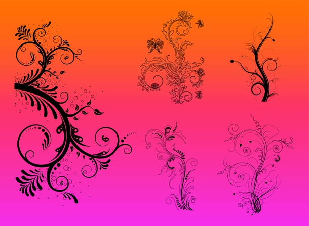 Flowers Vector Graphics