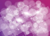 Purple Sparkles Vector